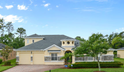 Front view of 3918 Safflower Ter, Oviedo, FL 32766