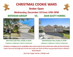 Christmas Cookie Wars Flyer