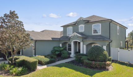 Front view of 955 Holly Springs Ter, Oviedo, FL 32765