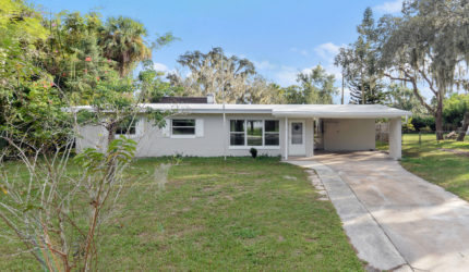 Front view of 160 E 3rd Ct, Chuluota, FL 32766