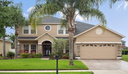 Front view of 3451 Hollow Oak Run in Live Oak Reserve, Oviedo, FL 32766