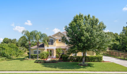 Front view of 122 Osprey Lakes Cir, Chuluota, FL 32766