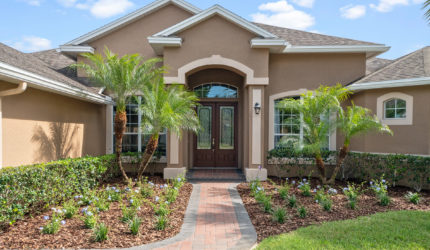 Front view of 332 Skyview Pl, Chuluota, FL 32766