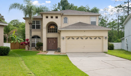 Front view of 3616 BECONTREE PL, OVIEDO, FL 32765