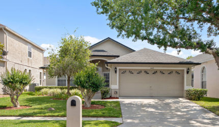 Front view of 4445 Drayton Ln, Oviedo, FL 32765