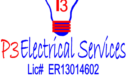 P3 Electrical Services transparent logo