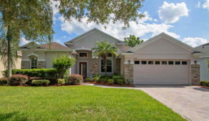 Front view of 3366 Red Ash Cir, Oviedo FL 32766