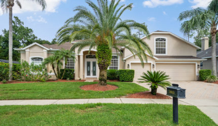Front view of 1883 Royal Majesty Ct, Oviedo, FL 32765