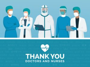 Special Thanks to Our Healthcare Professionals and Their Families!